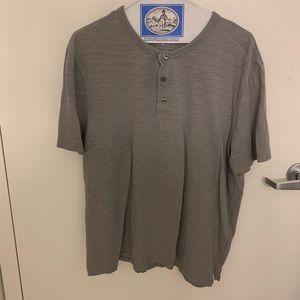 Vince Grey 3-button Short sleeve